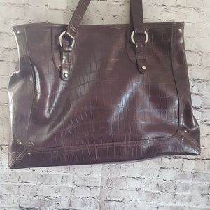 Liz Claiborne tote bag with laptop case